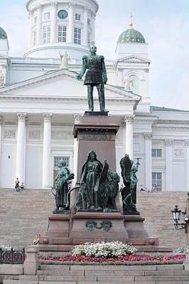 Памятник Александру II в Хельсинки(Финляндия)
