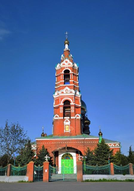 Церковь Спаса Преображенияв хуторе Обуховка