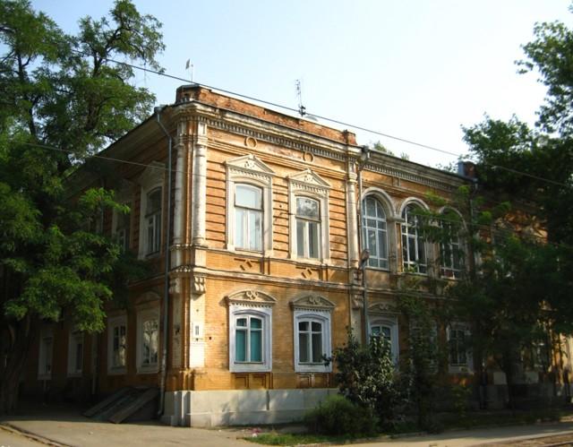 Жилой дом ростовского архитектора Закиева