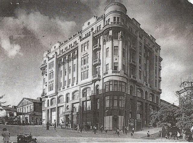 Доходный дом Рецкера и Хосудовского