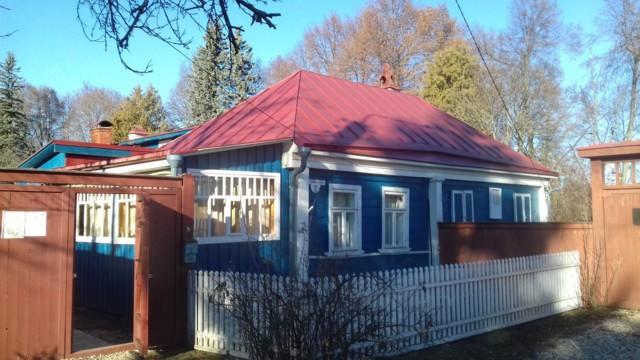 Мемориальный дом-музей К.Г. Паустовского в Тарусе