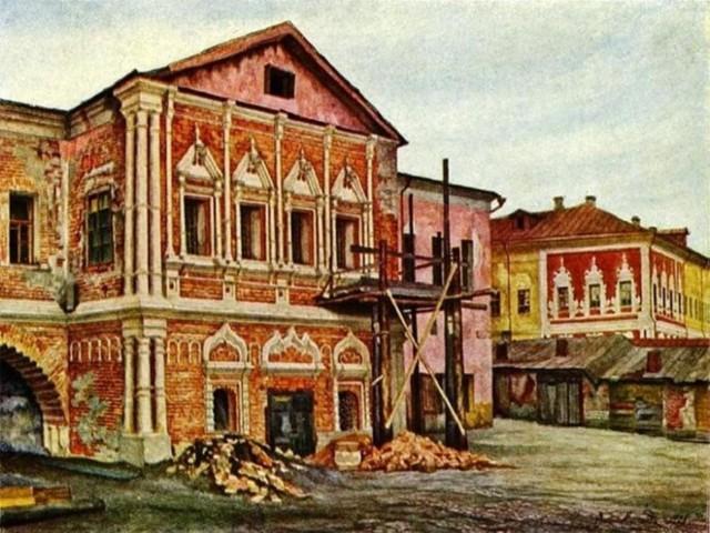 Палаты Троекуровых в Москве