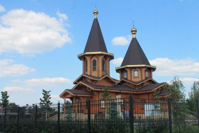 Храм преподобного Серафима Саровского в Белгороде