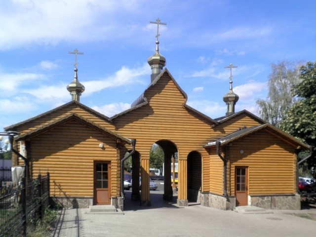 Часовня преподобного Серафима Саровского на Харьковской горе в Белгороде