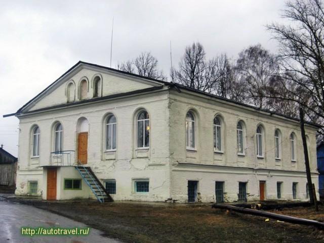 Усадьба Апраксиных в Брасово