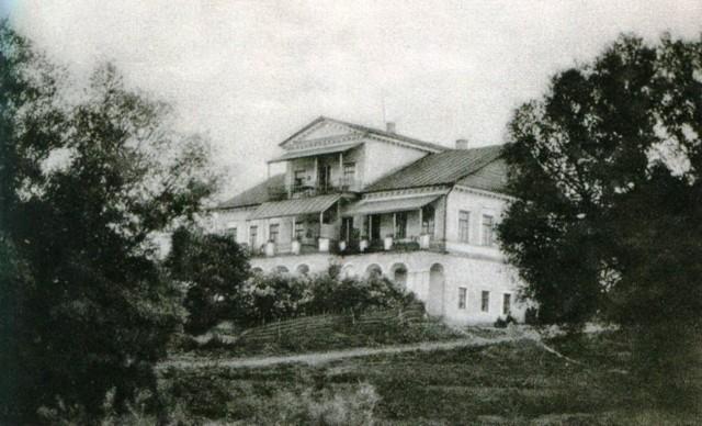 Дача Башкирцева в Семилуках (заброшена)