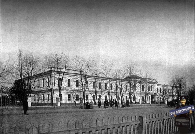 Войсковая гимназия в Краснодаре (Утрачен)