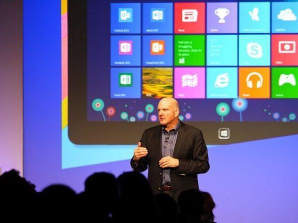 Стив Балмер, который запустил Windows 8 в 2012 году, уже не будет запускать Windows 9