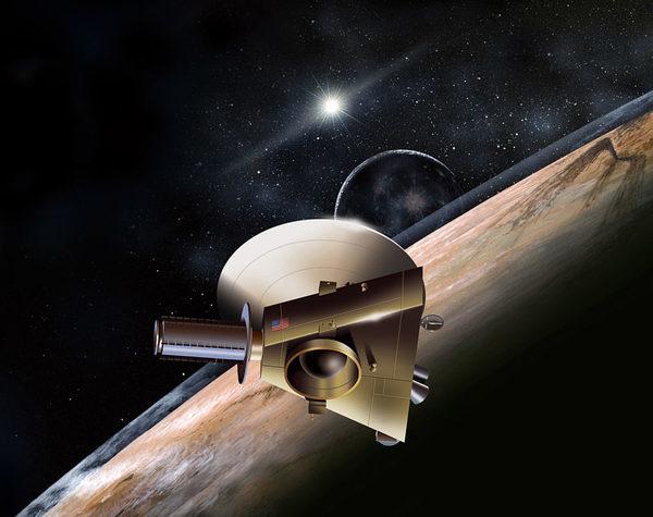 «Новые горизонты» — автоматическая межпланетная станция НАСА, запущенная 19 января 2006 года в рамках программы «Новые рубежи» (New Frontiers) и предназначенная для изучения Плутона и его естественного спутника Харона.