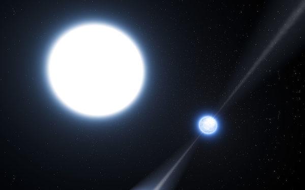 Экзотическая двойная система PSR J0348+0432, состоящая из пульсара и белого карлика