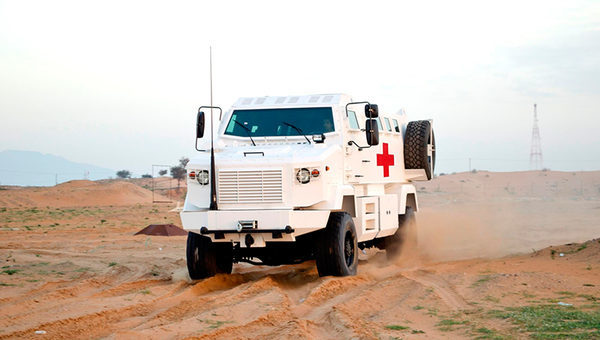 KrAZ Shrek One Ambulance