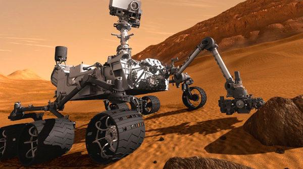 """Марсоход """"Любопытство"""" Curiosity"""