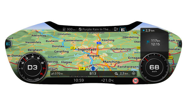 Audi Infotainment mode