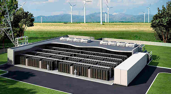 Southern California Edison проект Tehachapi Energy Storage