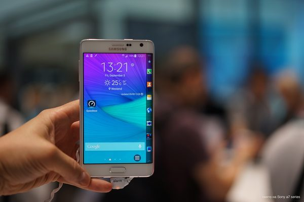 Galaxy Note Edge на Android