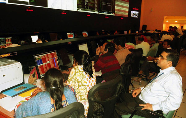 Центр управления полетом спутника Mangalyaan
