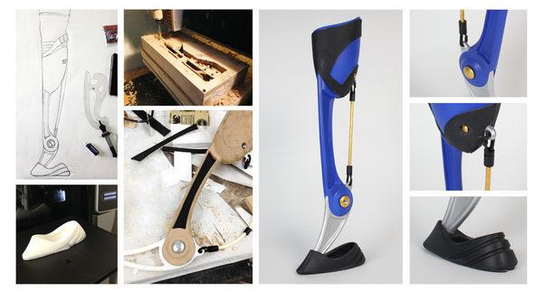 Дизайн протеза для скалолазов