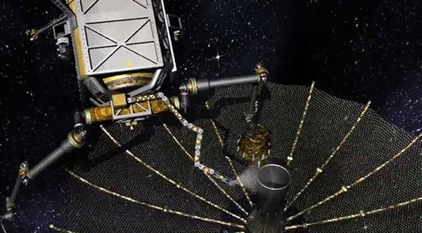 Космический робот ремонтирующий станцию