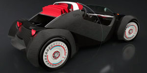 Local Motors Strati автомобиль напечатанный на 3D-принтер