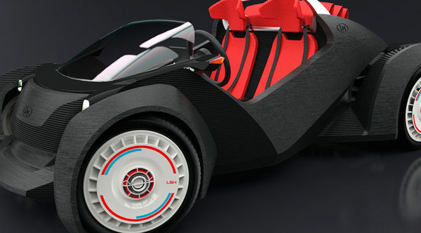 Strati-3D автомобиль