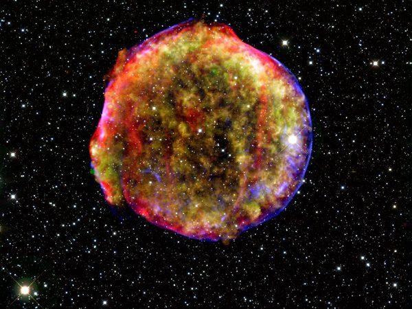 Остаток сверхновой звезды