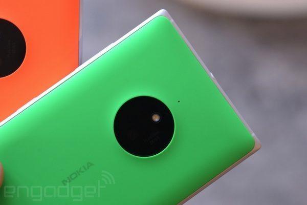 Поликарбонатная задняя крышка у lumia 830 и футуристический дизайн камеры