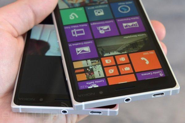 lumia 830 с алюминиевой рамкой смотрится как топовое устройство
