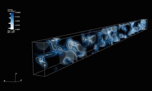 3D карта космической паутины на расстоянии в 10,8 миллиардов световых лет от Земли