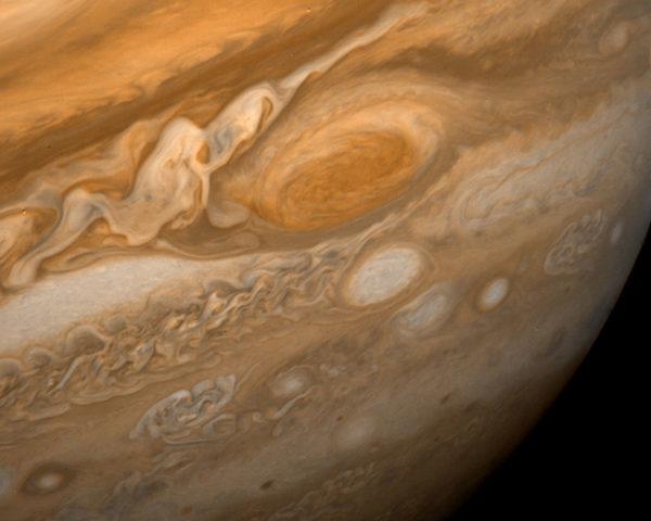 Вихри Юпитера