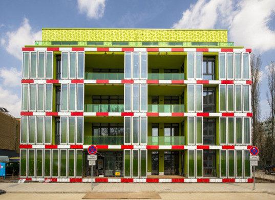 Зеленый дом, где водоросли являются полноценным источником энергии