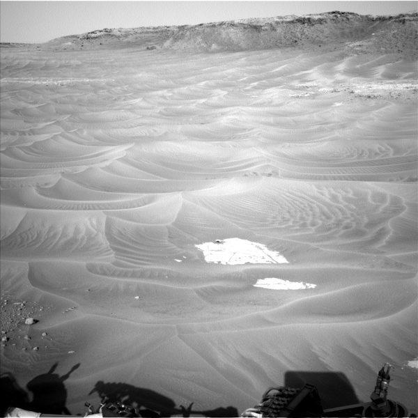 """Фото марсохода Любопытство """"Песчаные дюны Марса"""""""
