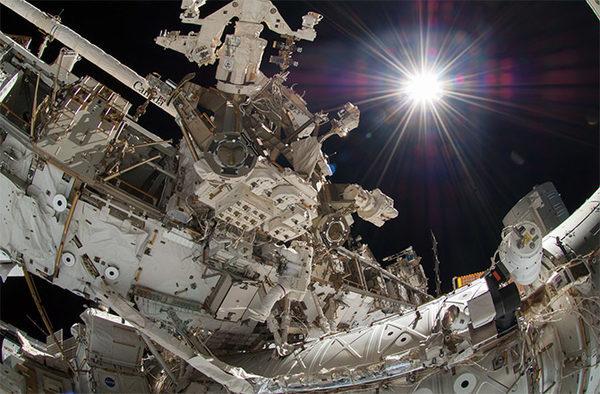 Селфи в космосе
