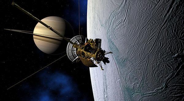 Спутник Титан аппарат Кассини
