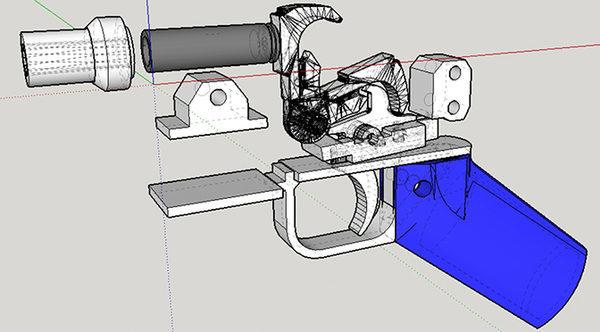 оружие на 3d принтере