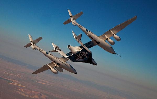 SpaceShipTwo (SS2) — частный пилотируемый суборбитальный космический корабль многоразового использования