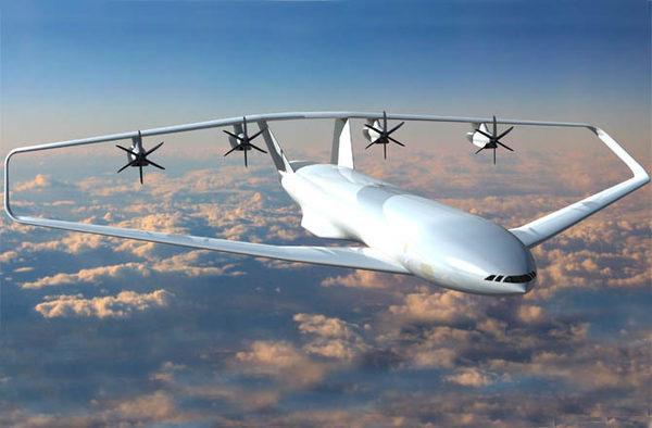 Проекты самолетов будущего CLOSED WING