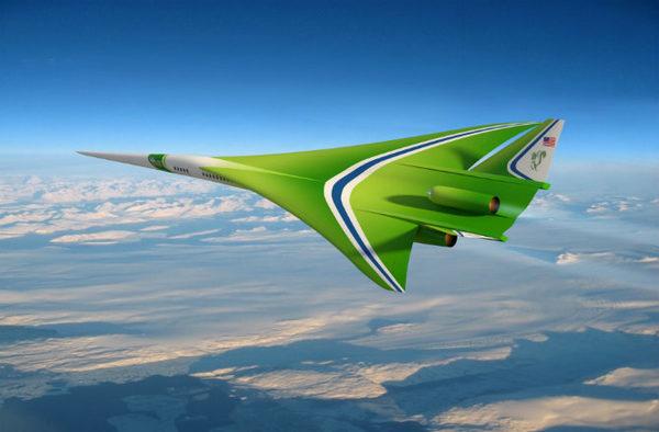 Самолет будущего QUIET SUPERSONIC