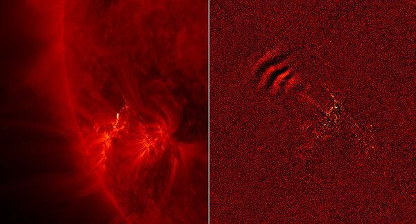 Солнечные вспышки фото