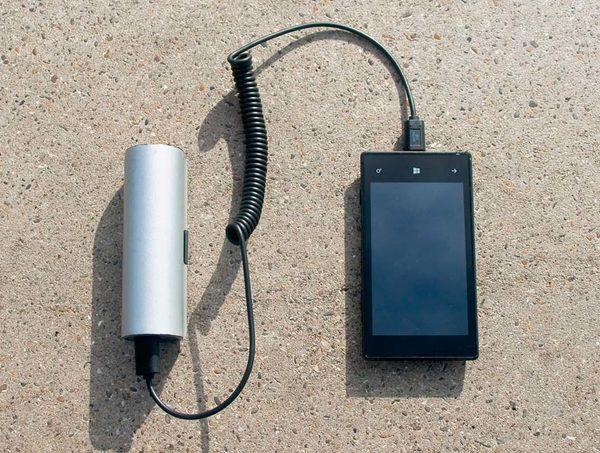 Зарядное устройство на солнечной панели