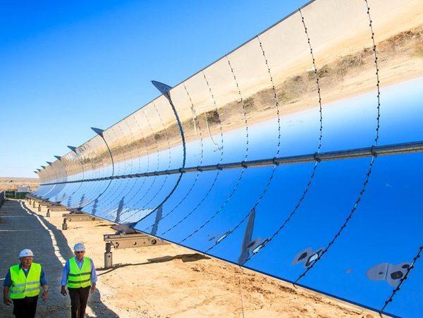Израиль Солнечная электростанция