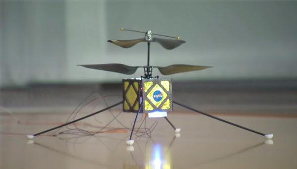 Вертолет для Марса, созданный инженерами JPL
