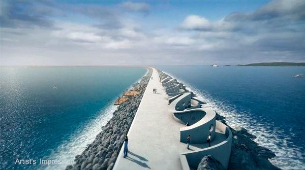 Самая большая приливная электростанция