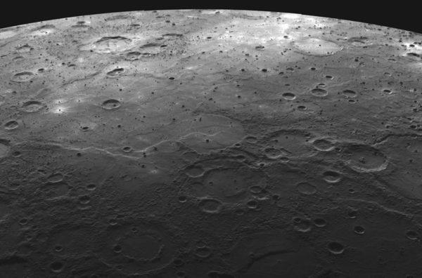 Меркурий Кратеры