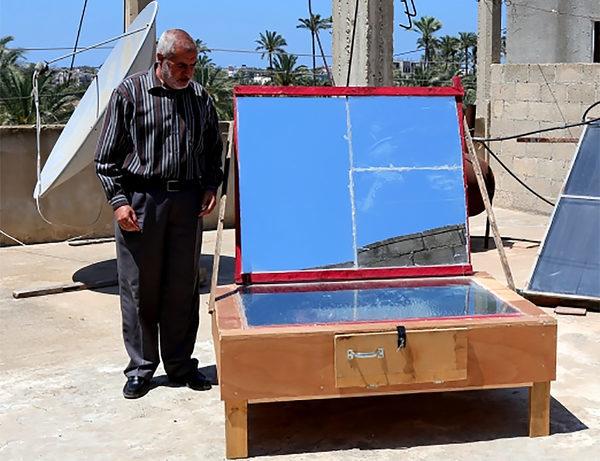 DIY солнечную печь