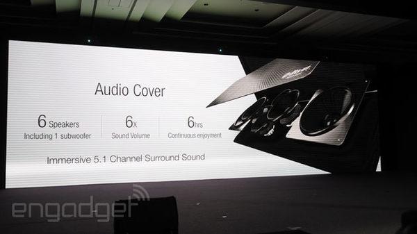 ASUS планшет с объемным звуком