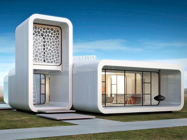 Строительный-3D-принтер Здание