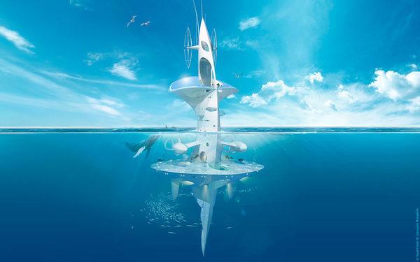 Футуристический корабль Sea_Orbiter