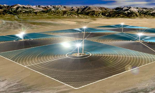 Китай построит массивную солнечную электростанцию