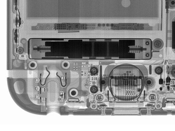 3D Touch в iPhone 6s под рентгеном.