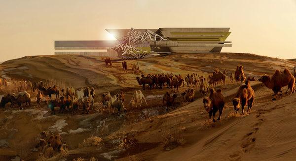 Новый отель в пустыни Гоби (13)